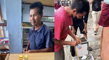 Berawal Dari Beli Nasi Padang Rp 5 Ribu, Pria Ini Kini Dapat Rejeki Rp 108 Juta