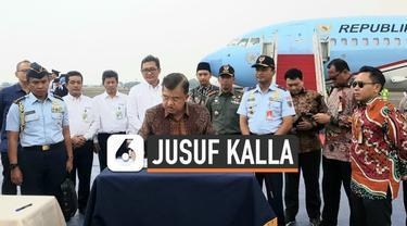 Wakil Presiden Jusuf Kalla mendapatkan kejutan dari TNI Angkatan Udara menjelang masa tugas JK sebagai orang nomor dua di Indonesia yang akan habis pada 20 Oktober mendatang.