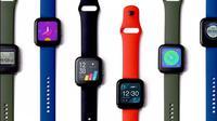 Tampilan Realme Watch yang baru saja diperkenalkan. (Sumber: Realme)
