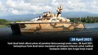 Tank Boat buatan konsorsium PT Pindad (Persero) mulai uji coba (dok: Pindad)