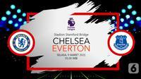 Chelsea vs Everton (liputan6.com/Abdillah)