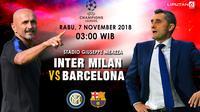 Prediksi Inter Milan Vs Barcelona (Liputan6.com/Trie yas)