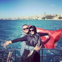 Sule dan Lina saat liburan ke Turki (Instagram/@ferdinan_sule)