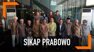 Mahfud MD memuji langkah Capres Prabowo Subianto yang ikut meredam aksi anarkistis di demo 22 Mei.
