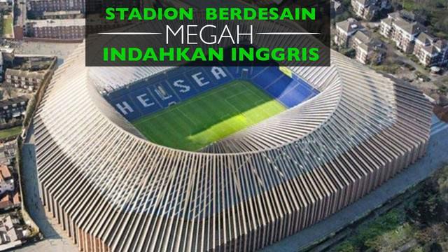 Berikut video desain stadion sepak bola di Inggris yang akan menambahkan kesan mewah di kompetisi tersebut.