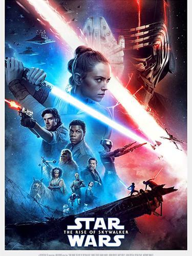 Poster film Star Wars: The Rise of Skywalker. (Foto: Dok. IMDb/ Walt Disney)