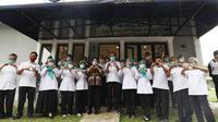 """Mensos Risma  meninjau pelayanan dan fasilitas BRSPDSN """"Wiyata Guna"""", salah satu fasilitas tersebut ada Cafe More yang dikelola oleh penyandang disabilitas netra di Bandung (18/03/2021)."""