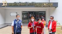 Greysia Polii/Apriyani Rahayu menerima bonus dari klub asalnya PB Jaya Raya dan Pemerintah Provinsi DKI Jakarta hari sabtu (14/8/2021) pagi.