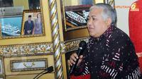 Din Syamsudin menyambut hangat kedatangan para petinggi Partai Gerindra yang telah mengunjungi PP Muhamadiyah (Liputan6.com/Herman Zakharia)