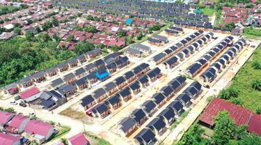 Kementerian PUPR mengalokasikan bantuan Prasarana, Sarana dan Utilitas (PSU) senilai Rp 2,77 miliar untuk 495 unit rumah subsidi di Riau. (Dok Kementerian PUPR)