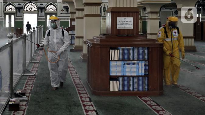 Masjid Fatahillah Balai Kota DKI Gelar Salat Jumat Dua Gelombang Hari Ini