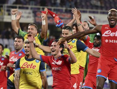 Foto: Tim 4 Besar Menang Semua di Pekan ke-7, Napoli Pertahankan Posisi Puncak Liga Italia 2021 / 2022