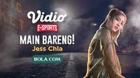 Cosplaer, Jess Chla, akan bermain PUBG Mobile di Vidio dalam program 'Main Bareng Yuk'.