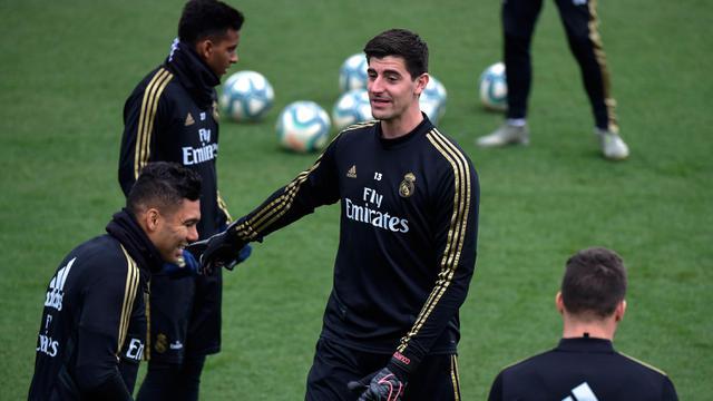 Intip Pemain Real Madrid Latihan Jelang  El Clasico