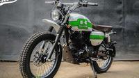 Kawasaki W175 yang telah dimodifikasi. (Nazar / Otosia)