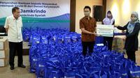 Karyawan Jamkrindo Donasikan Miliaran Rupiah untuk Masyararakat Terdampak Covid-19 (dok: Jamkrindo)
