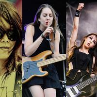 5 Pemain bass perempuan ini selain memilik kemampuang mumupuni juga memiliki paras cantik.