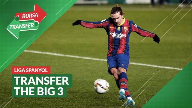 Berita Video, Daftar Transfer 3 Tim Raksasa Liga Spanyol, Atletico Madrid Paling Boros