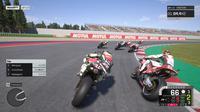 Ilustrasi game MotoGP 2019. (Istimewa)
