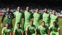 Tim Nasional Aljazair (AFP/Philippe Desmazes)
