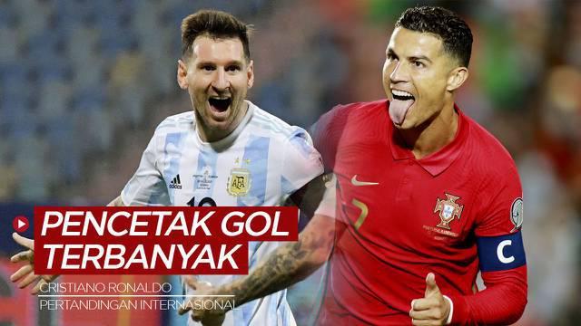 Berita Video, 7 Pesepakbola Tersubur di Level Internasional, Cristiano Ronaldo Jauh Ungguli Lionel Messi