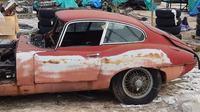 Mobil klasik Jaguar (Facebook.com/ Beaulieu Garage)