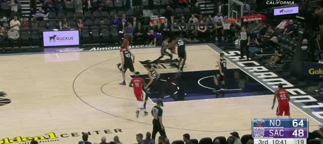 Berita video game recap NBA 2017-2018 antara New Orleans Pelicans melawan Sacramento Kings dengan skor 114-101.