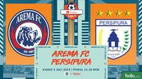 Shopee Liga 1 - Arema FC Vs Persipura Jayapura (Bola.com/Adreanus Titus)