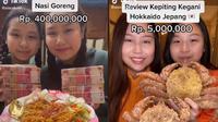 6 Video Viral Sisca Kohl Ini Bikin Heboh, Terbaru Nasi Goreng Rp 400 Juta (sumber: TikTok/siscakohl)