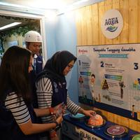 Belajar dan Bermain di AQUA Water Research Training Center di KidZania