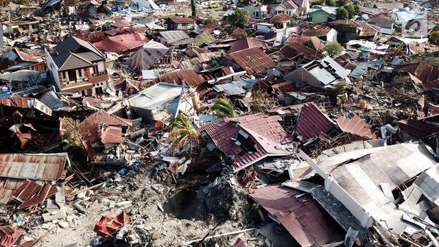 Potret Udara Ribuan Perumnas Balaroa Yang Hilang Akibat Gempa