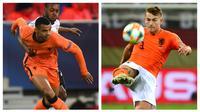 Belanda dikenal sebagai gudangnya pemain muda berbakat yang dihasilkan lewat akademi klub-klubnya di Eredivisie. Pemain yang berkualitas pastinya akan mendapat kesempatan memperkuat timnas senior. Berikut 5 pemain termuda terpilih untuk pentas Piala Eropa 2020. (Kolase Foto AFP)