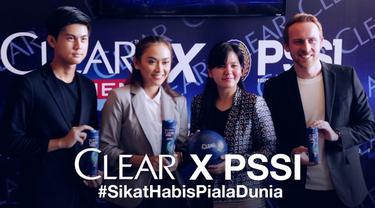 CLEAR, sebagai sampo resmi tim nasionai PSSI, secara konsisten menunjukkan komitmennya dalam mewujudkan mimpi sepak bola Indonesia.