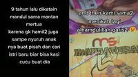 Curhat Wanita Nikah 9 Tahun Dibilang Mandul Sama Mertua, Kini Hamil dengan Suami Baru (Sumber: TikTok/@tikaa_msicaberawit1)