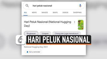 Warganet membanjiri laman media sosial dengan tagar #peluk lantaran tanggal 21 Januari dirayakan sebagai Hari Peluk Nasional, bagaimana sejarahnya?