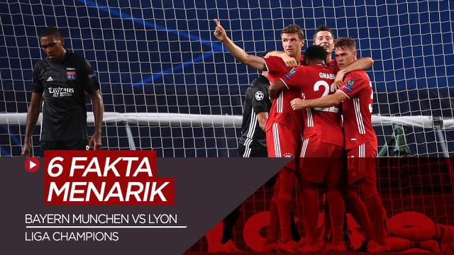Berita Video Fakta Menarik Usai Bayern Munchen Kalahkan Olympique Lyon di Semifinal Liga Champions