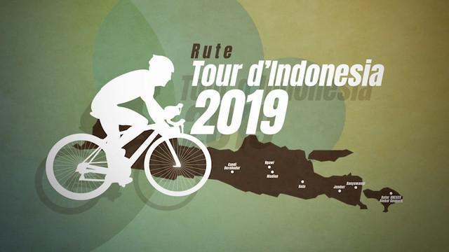 Tour d'Indonesia 2019 digelar mulai Senin (19/8/2019) pagi. Ada 18 tim yang berpartisipasi dalam event balap sepeda dengan kategori UCI 2.1 ini.