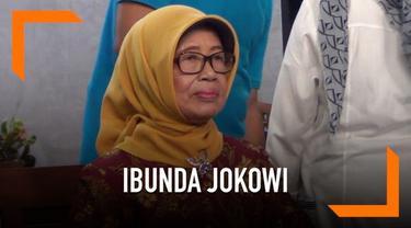 Ibunda Calon Presiden Joko Widodo, Sudjiatmi Notomihardjo ungkap kegiatan khususnya agar sang anak sukses dalam pemilihan presiden 2019.