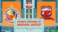 Shopee Liga 1 - Semen Padang FC Vs Madura United (Bola.com/Adreanus Titus)