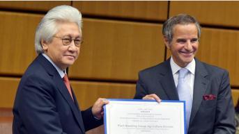 Manfaatkan Nuklir untuk Pangan, Indonesia Diganjar Penghargaan Badan Pangan dan Badan Atom Dunia
