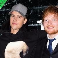 Kali ini, Ed Sheeran benar-benar ikut bernyanyi dengan Justin Bieber di lagu baru. (Foto: mtv.com)