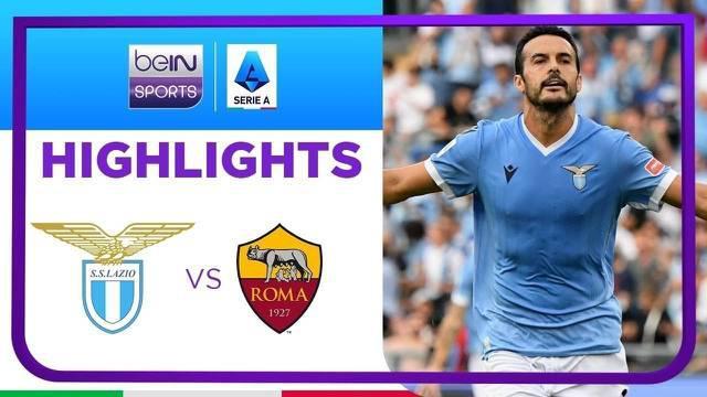 Berita video highlights kemenangan Lazio atas AS Roma 3-2 pada pekan keenam Liga Italia (Serie A) 2021/2022, di mana mantan pemain I Giallorossi, Pedro Rodriguez, menyumbang satu gol, Minggu (26/9/2021) malam hari WIB.