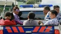 Aksi Menteri Susi Keliling Kota Naik Mobil Bak Terbuka