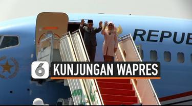 Wapres Maruf Amin hari ini bertolak ke Jepang menghadiri upacara penobatan kaisar Jepang. Wapres datang mewakili pesiden Jokowi.