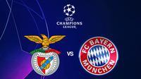 Liga Champions - Benfica Vs Bayern Munchen (Bola.com/Adreanus Titus)