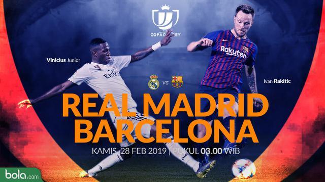 Head To Head Barcelona Vs Real Madrid 10 Tahun Terakhir ...