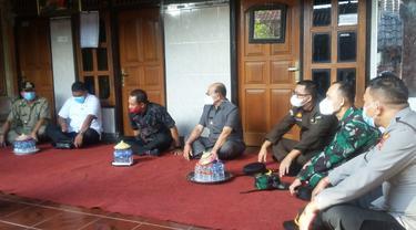 Forkopimda Karangasem Kunjungi Rumah Keluarga Korban Nanggala 402