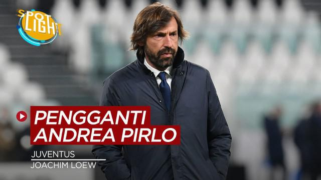 Berita video spotlight empat calon pengganti Andrea Pirlo jika dipecat oleh Juventus.