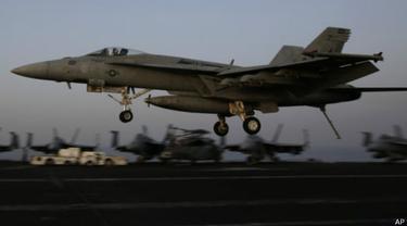 Pentagon: AS mulai gempur ISIS di Suriah