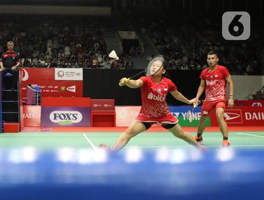 Rivaldy / Mentari Kandas di Babak Pertama Indonesia Masters 2020